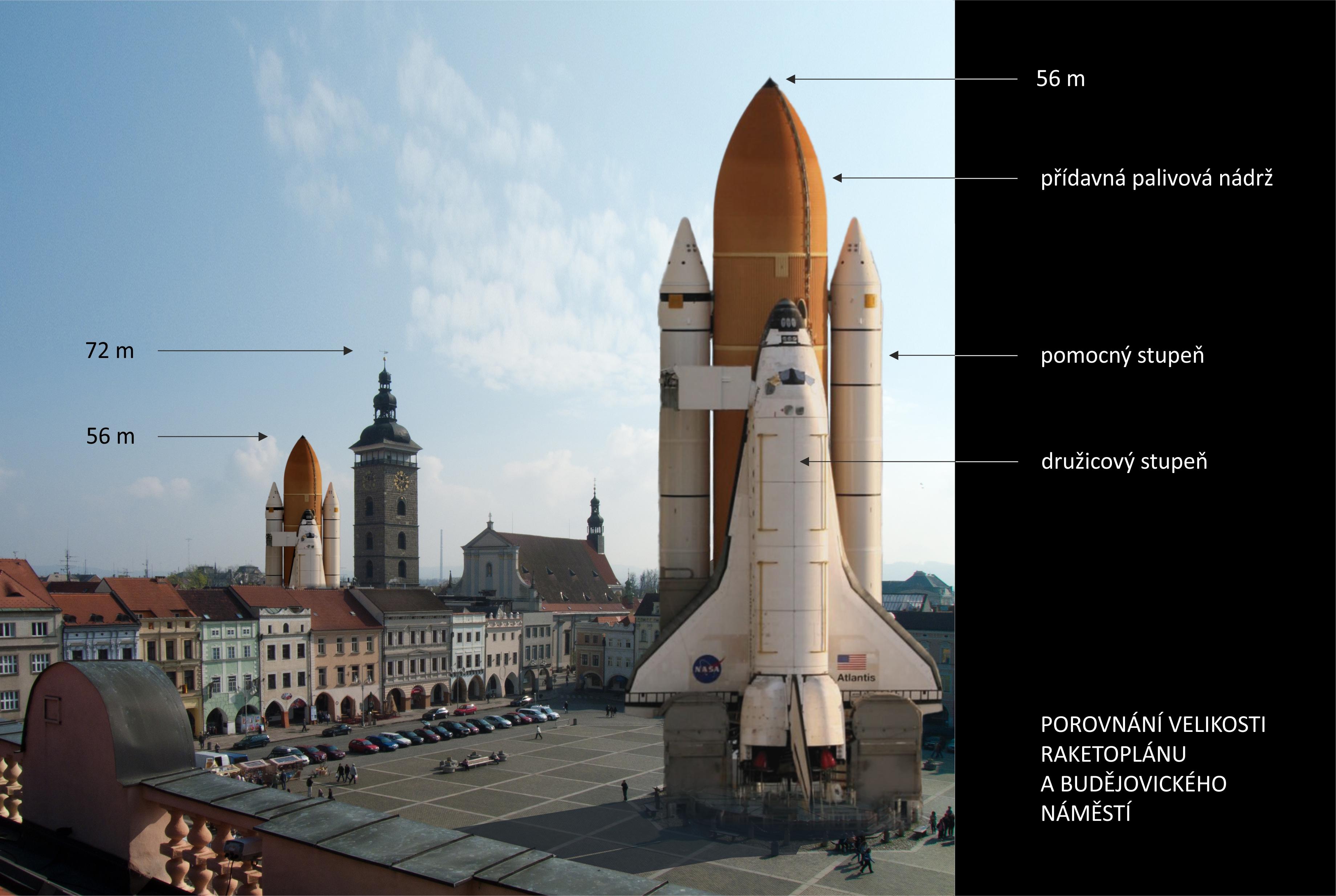 popis raketoplan